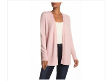 NWT Madewell Cozy Walker Long Pink Cardigan NEW