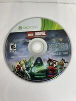 LEGO Marvel Super Heroes (Xbox 360, 2013) Tested!  Disc Only
