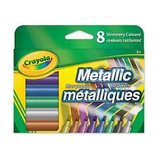 Crayola Metallic Markers, pack of 8