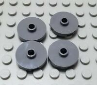 LEGO Lot of 15 Black 2x2 Specialty Axle Plates with Single Pin Hole