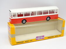 Norev 1/43 - Bus Bus Saviem SC10 Red