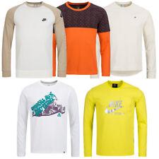 Nike Herren Langarm Sport Fitness Shirt Longsleeve XS S M L XL 2XL Langarmshirt
