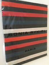 Sonia Rykiel Paris Striped Rue Saint Guillaume Poppy Red King Pillow Sham Cotton