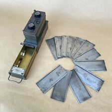Cornu Paris Ontoscope Vintage Stereo Film Camera W/ Tessar 55mm 1:4.5 & Plates