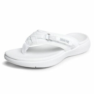 DREAM PAIRS Women's Fashion Arch Flip Flops Lightweight Thong  Sandals Slippers
