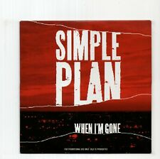 (JA813) Simple Plan, When I'm Gone - 2008 DJ CD