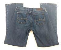 Lucky Brand Womens 6 / 28 Ankle Jeans Blue Sofia Boot Cut Low Rise Stretch  AQ