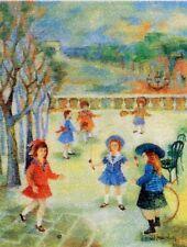 JEUX D ENFANTS LA MARELLE   POSTCARD FRANCE CPA Carte Postale Maximum H172