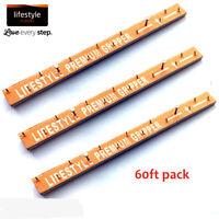 Premium Carpet Gripper Rods Dual Purpose Wood or Concrete 60ft Pack Lifestyle