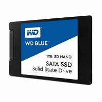 "WD Blue 3D NAND 1TB PC SSD - SATA III 6 Gb/s 2.5""/7mm Solid State Drive"