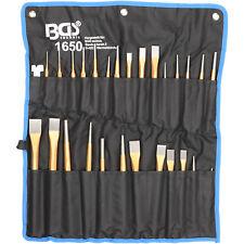 Juego Grande de Botadores Punzones Granetes y Cinceles 28 Piezas - Bgs 1650