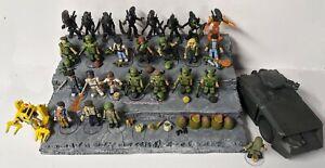 HUGE Aliens Minimates Lot Power Loader, APC, Ripley & More! 27 Figures. Alien
