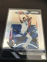 Panini Prizm Karl Anthony Towns Silver Base Twolves 18-19