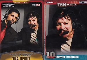 TNA TRISTAR FROM MEXICO 2 HECTOR GUERRERO ANNOUNCER WRESTLING CARDS SEE SCAN