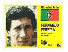 Vintage Portugese Golden Idols Sticker  Ice Hockey Player Fernando Pereira