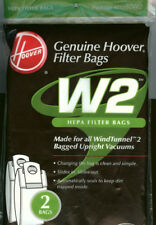 Genuine Hoover W-2 HEPA Vacuum Bags- Made for all WindTunnel 2 Upright Vacuums