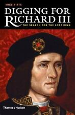 Digging for Richard III: The Search for the Lost King-ExLibrary