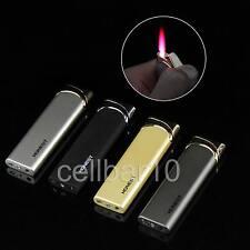 Honest Cigarette Cigar Smoking Windproof Lighter Butane Gas Jet Pink Flame