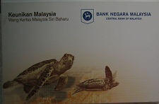 Malaysia Latest Series Banknotes RM20 in folder AA 0092499