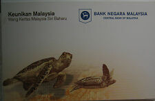 Malaysia Latest Series Banknotes RM20 in folder AA 0073788