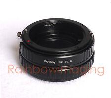 Nikon G AFS Lens to Fujfilm Adapter/ Macro Focusing Helicoid X-E1 X-E2 X-A1 X-M1