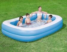"""GRANDE giardino famiglia rettangolare gonfiabile bambini piscina 96""""x60""""x20"""""""