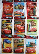 12 Disney Pixar Cars Coloring Book + 48 Crayon Party Favor Bag Fillers Supply 🎁