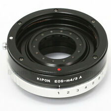 Kipon Canon EOS EF mount lens to Micro 4/3 Adapter w/ Build in Aperture GX7 E-P5