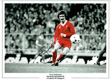 Terry McDERMOTT Signed Autograph Liverpool 16x12 Photo AFTAL COA