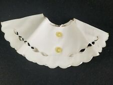 Vintage Designer BAAR & Beards Inc Collar with cut outs and Buttons