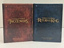 Lord Of The Rings Special Edition Extended DVD Sets Two Towers Return of the Kin