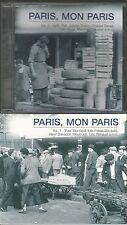 A - 2 CD´s Paris, mon Paris / Edith Piaf, Juliette Greco ( Vol 1 + Vol 2 )