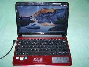 "Acer Aspire One 751h ZA3 2GB RAM 250GB HDD 11.6""  Screen, used item"