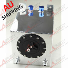 Universal 2.5 Gallon 10 L Fuel Cell Tank Mirror Polished Aluminum AU SHIP