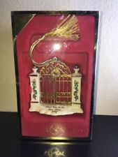 Lenox Collection - First Year In The New Home 2004 W/Original Box Mint Condition