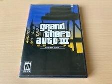 Grand Theft Auto Iii 3 (Ps2, Playstation 2) Security Sealed Double Pack Wata Gta