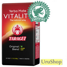 Y237 YERBA MATE TARAGUI VITALITY WITHOUT STEMS RAINFOREST ALLIANCE 500G TEA