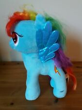 "TY  RAINBOW DASH MY LITTLE PONY SOFT PLUSH TOY 11"",  GENUINE"