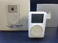 Apple iPod 1.Generation 5GB in OVP M8513D/A sehr selten RARITÄT 1G white 1nd 1st