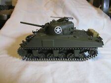 DANBURY MINT MINI - CHAMPS M4A3 DIE CAST SHERMAN TANK. ;35 SCALE. NEW CONDITION.