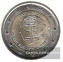 Belgien 2012 Stgl./unzirkuliert 2012 2 Euro Königin Elisabeth Musik Wett