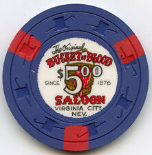 Bucket of Blood Casino - Virginia City, NV - $5 Chip -1976