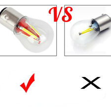 4 LED Filament 1156 BAU15S PY21W LED Turn Signal Light Reverse Backup Lamp/Bulb
