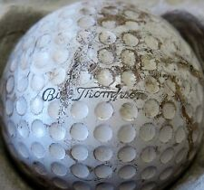 (1) BILL THOMPSON SIGNATURE LOGO GOLF BALL (CIR 1940)
