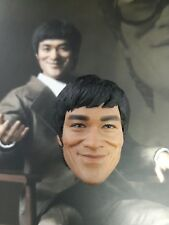 1/6 Hot Toys Bruce Lee MIS11 Head Sculpt US Seller