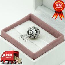 Pandora, Alphabet Letter, Initial, Vintage C, Bracelet Charm 791847CZ