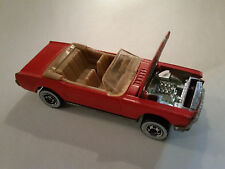 1984 Hot Wheels '65 Mustang Convertible - Red - 5908