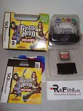 GUITAR HE ON TOUR DECADES CON TASTIERA NINTENDO DS NDS IN ITALIANO