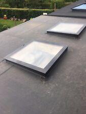 Rooflight - SKYLIGHT - Flat Roof light, D/B Glazed - 1000x2000mm - Price Beat