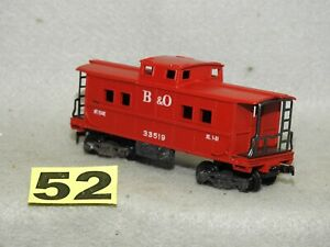 CLEAN GILBERT AMERICAN FLYER HO SCALE #33519 B&O CABOOSE EXCELLENT, READY TO RUN